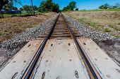 Texas Train Tracks