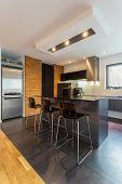 Kitchen Island In Modern Interior