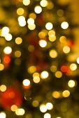 Defocussed Christmas Lights