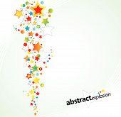 Starry explosion design