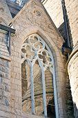 Closeup Of Church Window