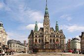 Town Hall in Liberec, Czech Republic