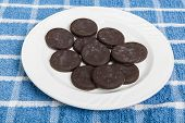 Frozen Thin Mint Cookies