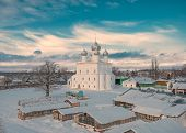 Winter Evening over Rostov Veliky