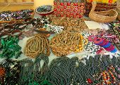 pic of curio  - Various African beads - JPG