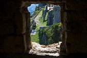 Window View On Klis Fortress