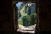 Window View On Klis Fortress