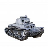 stock photo of panzer  - Panzer 35t German Light Tank was used mainly by Nazi Germany during World War II - JPG