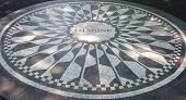 Strawberry Fields mosaic, NYC