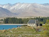 Church of the Good Shepherd at Lake Tekapo, New Zealand