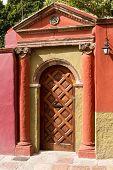 Colonial Spanish Door