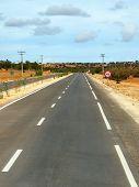 Asphalt Road In Morocco