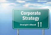 Highway Signpost Corporate Strategy