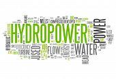 Word Cloud Hydropower