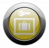 Icon, Button, Pictogram Locker