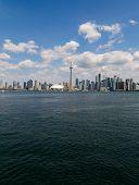 Toronto Skyline Vertical