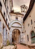 City Gate In Spoleto, Italy
