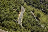 tight mountain road