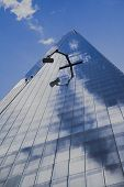 Window cleaning Arm of the shard