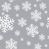 Decorative abstract snowflake.  Seamless Vector illustration
