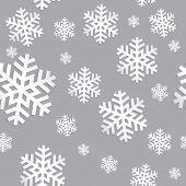 Decorative abstract snowflake.  Seamless Vector illustration