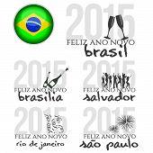 Happy new year in Brasil