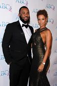 LOS ANGELES - NOV 22:  The Game, Nicole Murphy at the ABC 25th Annual Talk Of The Town Black Tie Gala at the Beverly Hilton Hotel on November 22, 2014 in Beverly Hills, CA