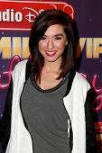 LOS ANGELES - NOV 22:  Christina Grimmie at the Radio Disney's Family VIP Birthday at the Club Nokia on November 22, 2014 in Los Angeles, CA