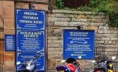 Thermal Baths signs, Matlock Bath.