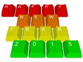 Happy New Year 2015 - PC keys