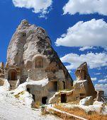 Rock Carved Church In Urgup, Cappadocia