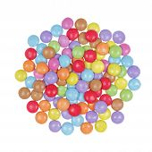 Multicolor Candy Isolated