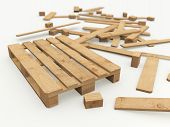Wooden Pallet And Its Construction Boards
