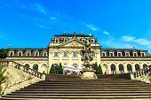 Orangery Terrace in the castle garden in Fulda, Germany