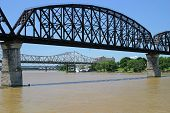 Three Bridges Over Ohio River