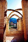 Ruins at a Monastery
