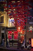 Redlight district in Amsterdam