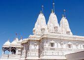 Toronto Shri Swaminarayan Mandir Balconies And Spiers 2008