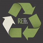 foto of reuse  - Reuse conceptual symbol and  - JPG