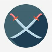 picture of longsword  - Pirate theme icon - JPG
