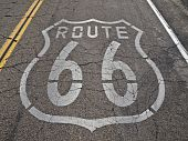 Route 66 Faded