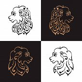 picture of lions-head  - Lion head tattoo or logo - JPG