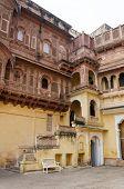 picture of raja  - Meherangarh fort - JPG