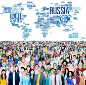 image of globalization  - Russia Global World International Countries Globalization Concept - JPG