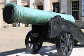 Old bronze cannon