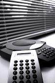 Calculator And Telephone