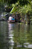 Passenger On Floating Market