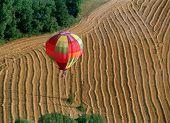 The hot air ballon