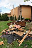 SAINT LOUIS, MISSOURI - APRIL 22: Areas of St. Louis undergo clean up efforts after tornadoes hit th