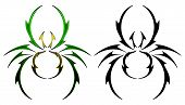 Spider tattoo design